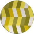 rug #1169971 | round white retro rug