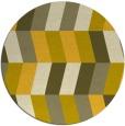 rug #1169997   round retro rug