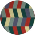 rug #1170012 | round abstract rug