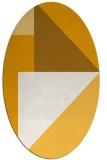 rug #1180375   oval light-orange popular rug