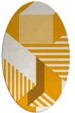 rug #1182215 | oval abstract rug