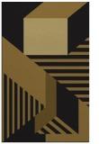 rug #1182251 |  mid-brown stripes rug