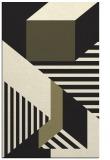 rug #1182255    black abstract rug
