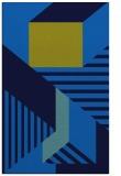 rug #1182263 |  blue abstract rug