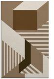 rug #1182387    mid-brown geometry rug