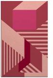 rug #1182463    pink stripes rug