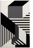 rug #1182519 |  black abstract rug