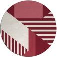 rug #1182827   round pink graphic rug