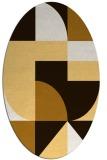 rug #1184006   oval circles rug