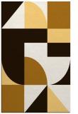 rug #1184371 |  brown circles rug