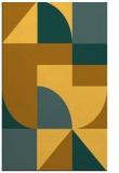 rug #1184399 |  yellow geometry rug