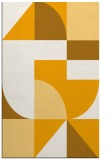 rug #1184423 |  light-orange circles rug