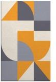 rug #1184435 |  light-orange abstract rug