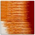 rug #1185387 | square orange stripes rug