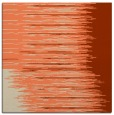 rug #1185391 | square orange abstract rug