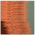 rug #1185395 | square red-orange abstract rug