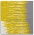 rug #1185499 | square yellow rug