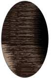 rug #1185557 | oval abstract rug