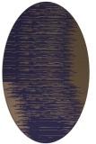 rug #1185647   oval beige stripes rug