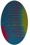 rug #1185663 | oval abstract rug
