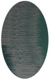 rug #1185671 | oval blue-green abstract rug