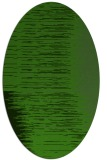 rug #1185683 | oval light-green rug