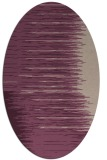 rug #1185717 | oval stripes rug