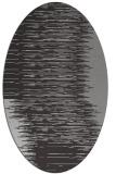 rug #1185736 | oval stripes rug