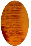 rug #1185751 | oval red-orange abstract rug