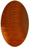 rug #1185815 | oval red-orange abstract rug