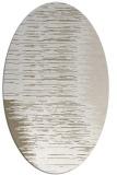 rug #1185855 | oval white rug