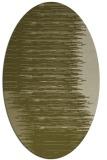 rug #1185891 | oval light-green rug