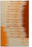 rug #1185911 |  orange abstract rug