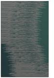 rug #1186039 |  blue-green stripes rug