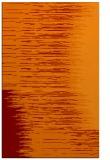 rug #1186119 |  orange stripes rug