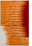 rug #1186123 |  orange abstract rug