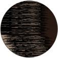 rug #1186291 | round black stripes rug