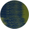 rug #1186323 | round green abstract rug