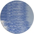 rug #1186327 | round blue stripes rug