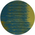 rug #1186355 | round green abstract rug