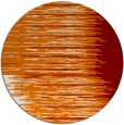 rug #1186491 | round orange abstract rug