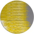 rug #1186603 | round yellow abstract rug