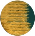 rug #1186607 | round yellow abstract rug