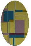 rug #1187461   oval abstract rug