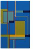 rug #1187783    blue abstract rug