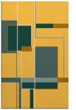 rug #1188079    light-orange abstract rug