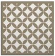 rug #119145 | square beige circles rug