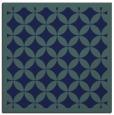 rug #119177 | square blue circles rug
