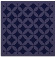 rug #119229 | square blue-violet geometry rug