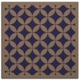 rug #119253 | square blue-violet borders rug